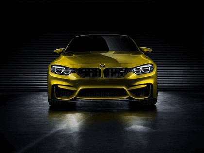 2013 BMW M4 ( F32 ) coupé concept 5