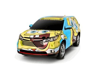 2014 Toyota Highlander Spongebob 1