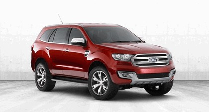 2013 Ford Everest concept - Australian version 1