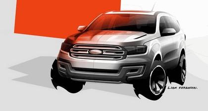 2013 Ford Everest concept - Australian version 3
