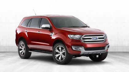 2013 Ford Everest concept - Australian version 8