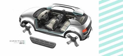 2013 Citroën Cactus concept 56
