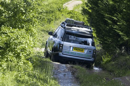 2013 Land Rover Range Rover ( L405 ) SD V6 hybrid prototype 5