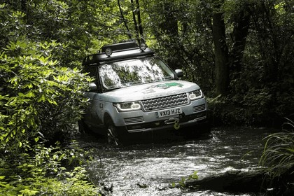 2013 Land Rover Range Rover ( L405 ) SD V6 hybrid prototype 8