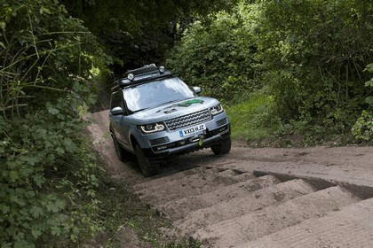 2013 Land Rover Range Rover ( L405 ) SD V6 hybrid prototype 10