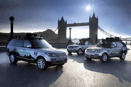 2013 Land Rover Range Rover ( L405 ) SD V6 hybrid prototype 16