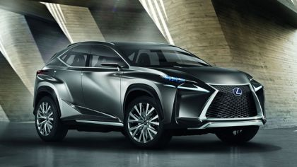 2013 Lexus LF-NX Crossover concept 4