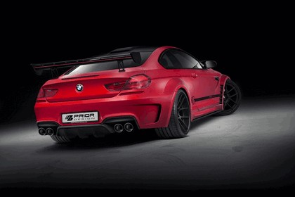2013 BMW M6 ( F12 ) with PD6XX Widebody aerodynamic package by Prior Design 3
