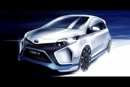 2013 Toyota Yaris Hybrid-R concept 29