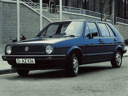 1983 Volkswagen Golf ( II ) 5-door 1
