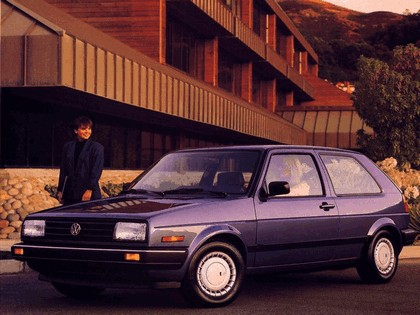 1987 Volkswagen Golf ( II ) 3-door - USA version 2