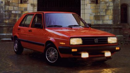 1987 Volkswagen Golf ( II ) 5-door - USA version 9