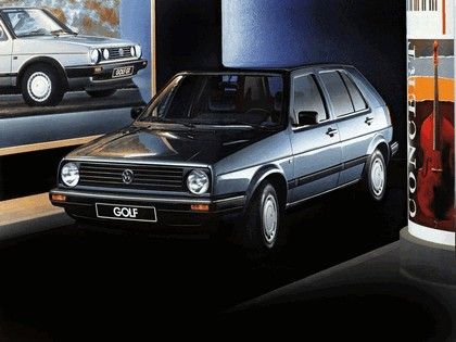 1987 Volkswagen Golf ( II ) 5-door 1