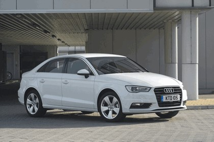 2013 Audi A3 saloon sport - UK version 2