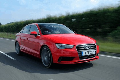 2013 Audi A3 saloon sport - UK version 56