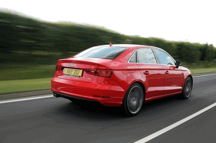 2013 Audi A3 saloon sport - UK version 65