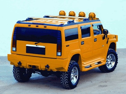 2002 Hummer H2 by Xenon 2