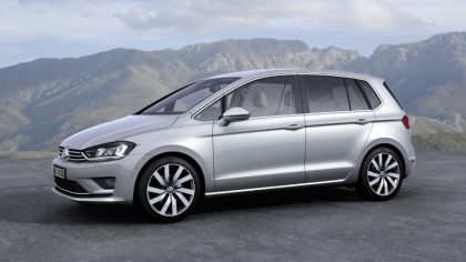 2013 Volkswagen Golf ( VII ) Sportsvan Concept 3