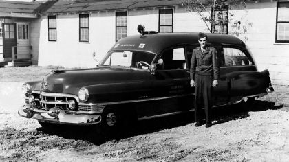 1951 Cadillac Ambulance by Meteor 6