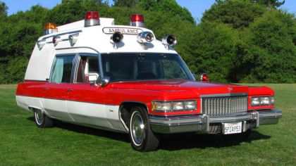 1975 Cadillac Miller-Meteor Criterion Ambulance 6