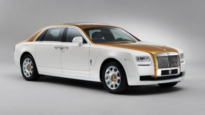 2013 Rolls-Royce Ghost Golden Sunbird 5