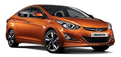 2013 Hyundai Avante 1