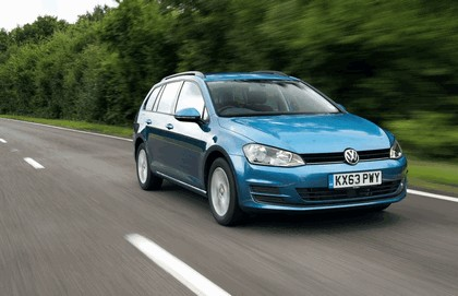 2013 Volkswagen Golf ( VII ) Estate - UK version 19