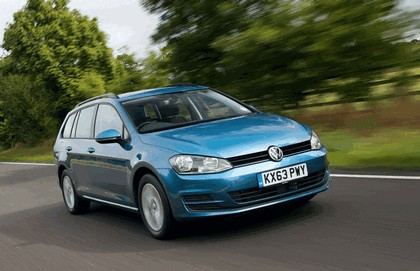 2013 Volkswagen Golf ( VII ) Estate - UK version 20