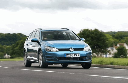 2013 Volkswagen Golf ( VII ) Estate - UK version 22
