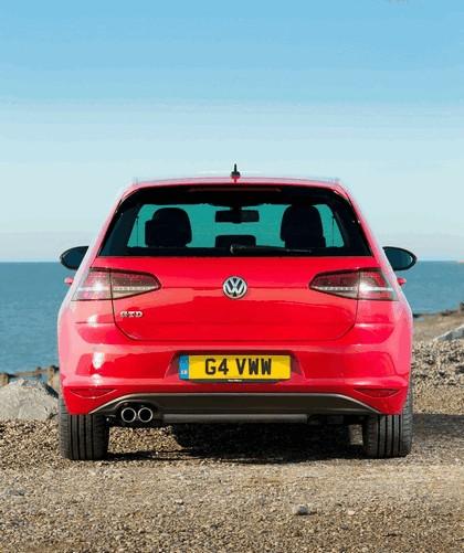2013 Volkswagen Golf ( VII ) GTD 5-door - UK version 9