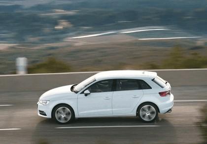2013 Audi A3 Sportback Sport - UK version 2