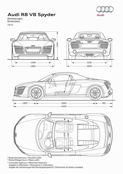 2014 Audi R8 V8 53