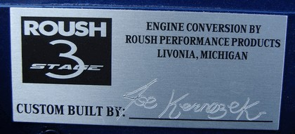 2007 Ford Mustang Roush stage 3 20