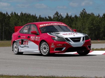 2010 Saab 9-3 rallycross 5