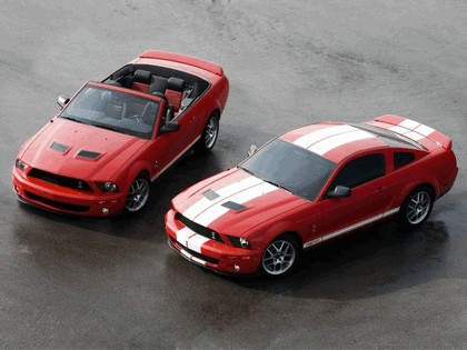 2007 Ford Mustang Shelby GT500 convertible 2