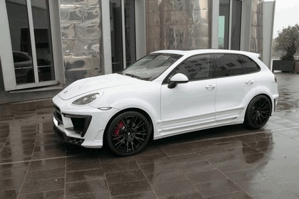 2013 Porsche Cayenne ( 958 ) White Dream edition by Anderson Germany 1