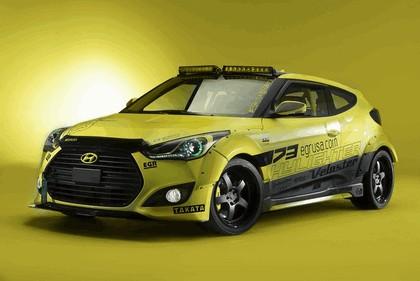2013 Hyundai Veloster Turbo Yellowcake night racer by EGR 2
