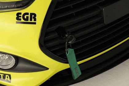 2013 Hyundai Veloster Turbo Yellowcake night racer by EGR 4