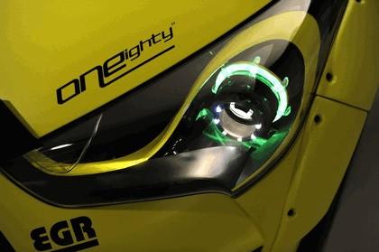 2013 Hyundai Veloster Turbo Yellowcake night racer by EGR 7