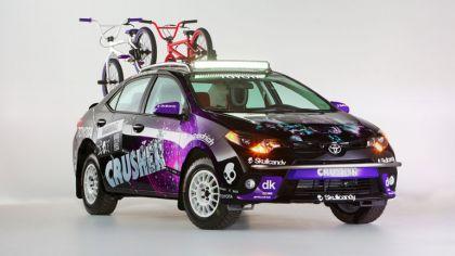 2013 Toyota Crusher Corolla 1