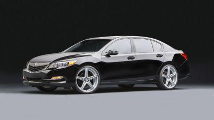2013 Acura RLX Urban Luxury Sedan 9