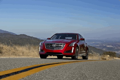 2014 Cadillac CTS Vsport sedan 3