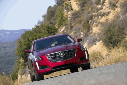 2014 Cadillac CTS Vsport sedan 4