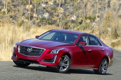 2014 Cadillac CTS Vsport sedan 5