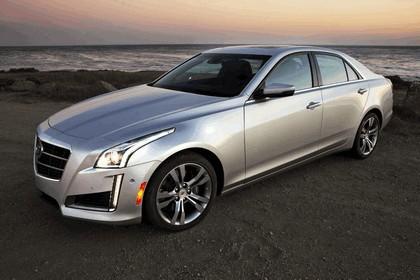 2014 Cadillac CTS Vsport sedan 11
