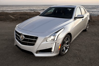 2014 Cadillac CTS Vsport sedan 12