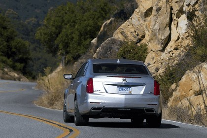 2014 Cadillac CTS Vsport sedan 21