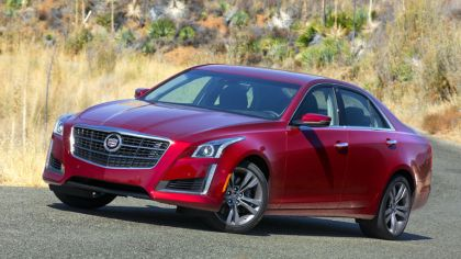 2014 Cadillac CTS Vsport sedan 9