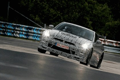 2013 Nissan GT-R ( R35 ) - Nuerburgring-Nordschleife test 3