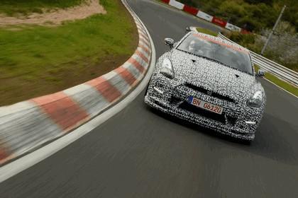 2013 Nissan GT-R ( R35 ) - Nuerburgring-Nordschleife test 14
